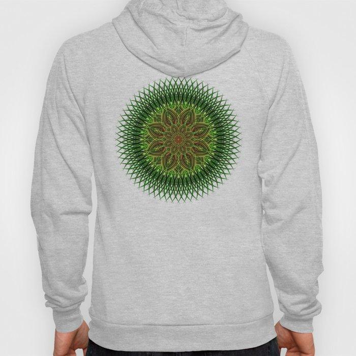 Earth Flower Mandala Hoody