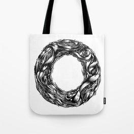 The Illustrated O  Tote Bag