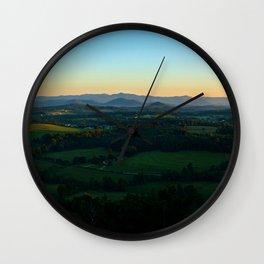 Glassy Mountain, South Carolina Wall Clock