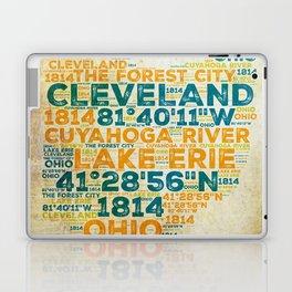 Cleveland is in Ohio Laptop & iPad Skin
