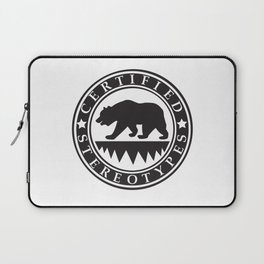 California Certified Stereotypes Laptop Sleeve