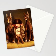 Captain Pig with his guards Stationery Cards