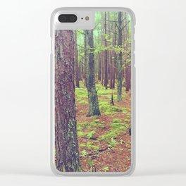 Songbird Trail Pine Grove Clear iPhone Case