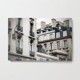 One Corner in Paris Metal Print