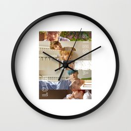 BTS LOVE YOURSELF HER - L O V E Wall Clock