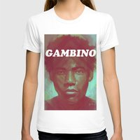 childish gambino T-shirts featuring Gambino by NArtist_P3rhaps