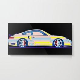 Neon Carrera Dream Metal Print