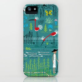 In The Marshlands iPhone Case
