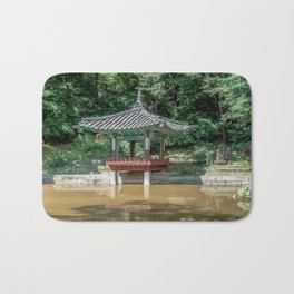 The aeryeonjeong in the Aeryeonji Pond of the secret garden_Changdeokgung Palace Bath Mat
