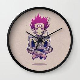 Eye Opener Wall Clock