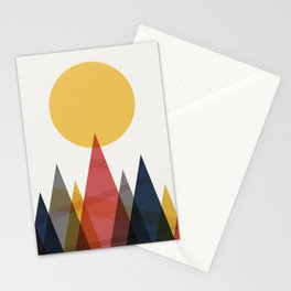 Mountain Print Stationery Cards