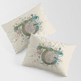 Celtic Initial T Pillow Sham