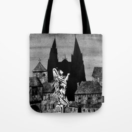 Angel square Tote Bag