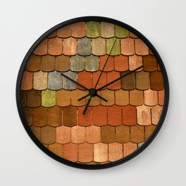 Up on the Roof Wall Clock