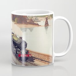 100 Years of Progress, 1835-1935. GWR Vintage Travel Poster Coffee Mug