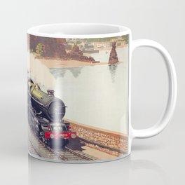 100 Years of Progress, 1835-1935. GWR Vintage Travel Poster Coffee Mug