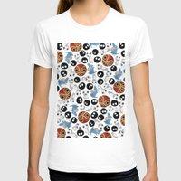 studio ghibli T-shirts featuring Ghibli Pattern by pkarnold + The Cult Print Shop