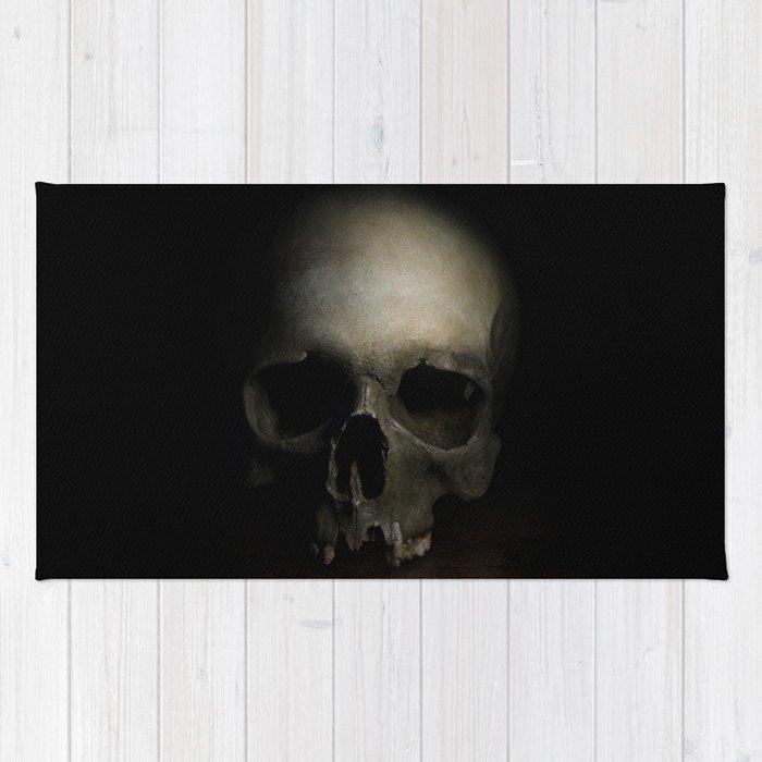 Male skull Rug