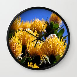Beautiful Protea in South Africa Wall Clock