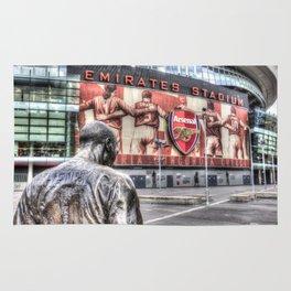 Thierry Henry Statue Emirates Stadium Rug