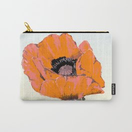 And they call it  Poppy  Love Carry-All Pouch