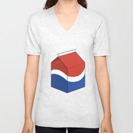 Pepsi in a box Unisex V-Neck
