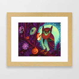 Trick or Treats Framed Art Print