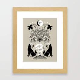 garden of the moon Framed Art Print