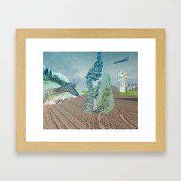 atmosphere 2 · Salvador Framed Art Print