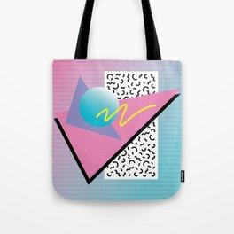 Memphis pattern 41 - 80s / 90s Retro Tote Bag