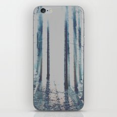 Watercolor Forest iPhone & iPod Skin