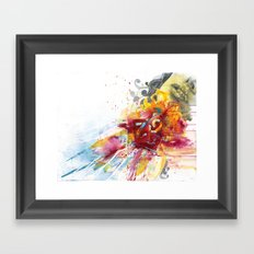 MINGA x Delivery of a Gift Framed Art Print