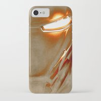 iron man iPhone & iPod Cases featuring Iron Man by Fernando Vieira