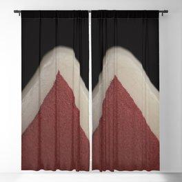 Red Corner Blackout Curtain