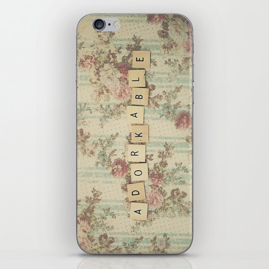 Adorkable iPhone & iPod Skin