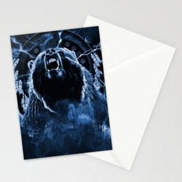 CHIEF CHARGING BEAR Stationery Cards