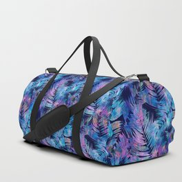 Waikiki Tropic {Blue} Duffle Bag