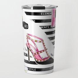 Perfume & Shoes #3 Travel Mug