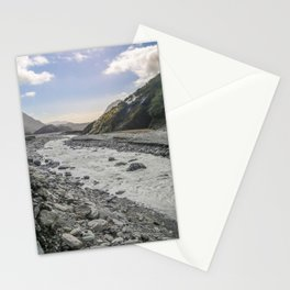 Beyond the Glacier Valley Stationery Cards