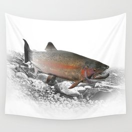 Migrating Steelhead Trout Wall Tapestry