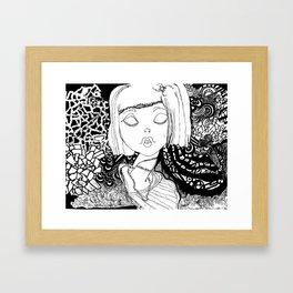 Annabeth Framed Art Print