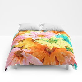 Simone #painting #floral Comforters