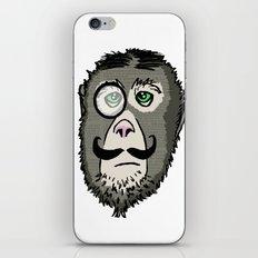 Detective Monkey Head iPhone & iPod Skin