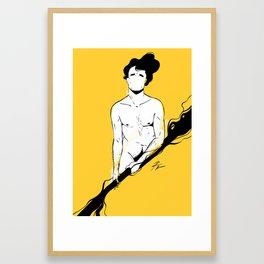 MAN 3 Framed Art Print