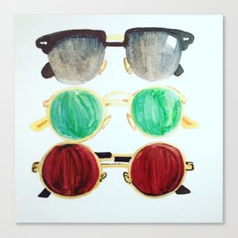Ray of Sunnies Canvas Print