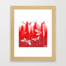 CN DRAGONFLY 1013 Framed Art Print