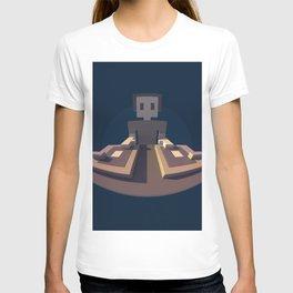 DJ Voxel - discjockey logo T-shirt