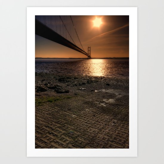 The Humber Bridge Art Print