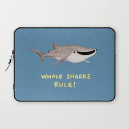 Whale Sharks Rule! Laptop Sleeve