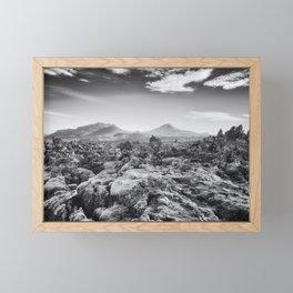 Lava Field VI Framed Mini Art Print